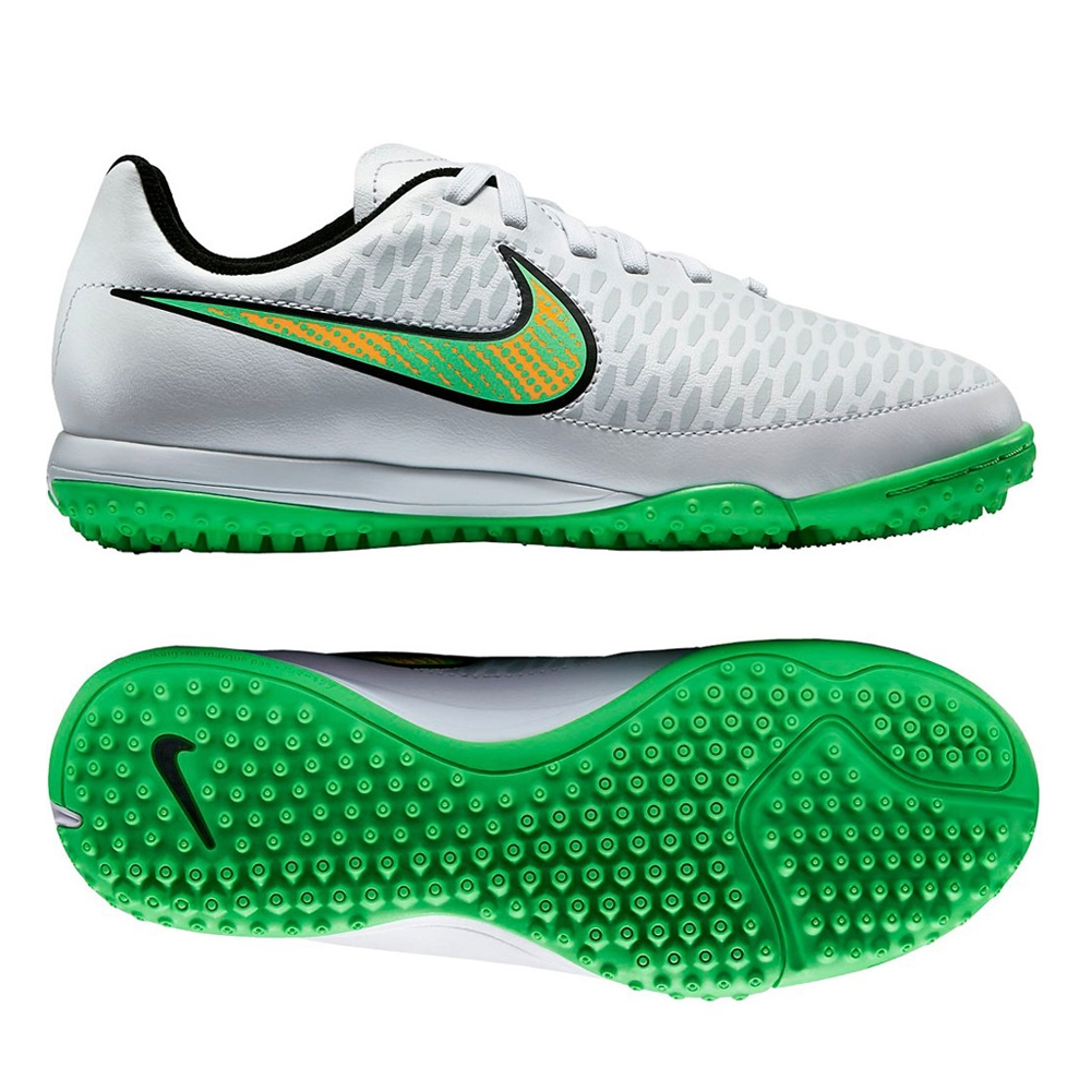 Nike Youth Magista Onda IC Indoor Soccer Shoes (White)