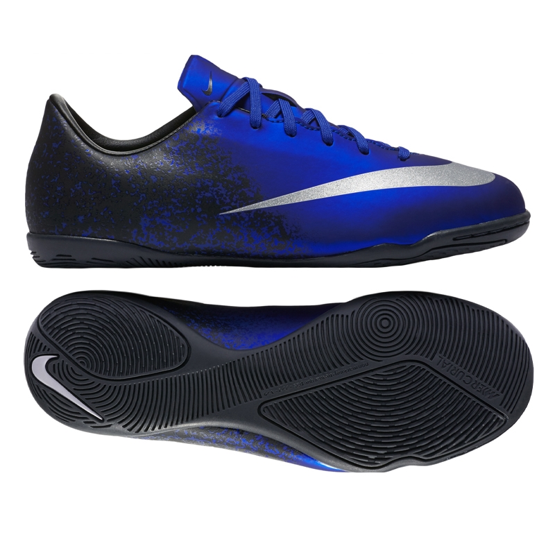 c977b1a6aa65 Mercurial Victory V CR7 Indoor Soccer Shoes (Deep Royal Blue Racer ...