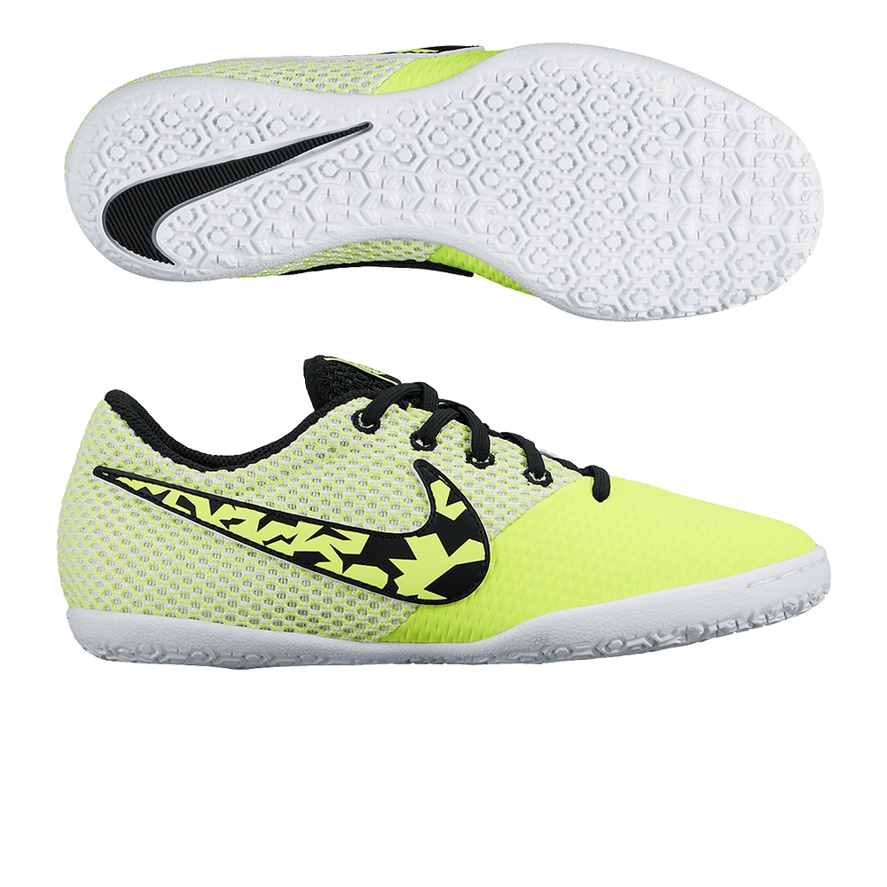 189194819 Nike FC247 Elastico Pro III IC Youth Indoor Soccer Shoes (Volt White ...