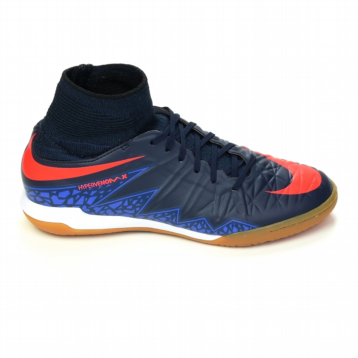 Nike Youth HypervenomX Proximo IC Indoor Soccer Shoes (Obsidian/Total  Crimson/Coastal Blue