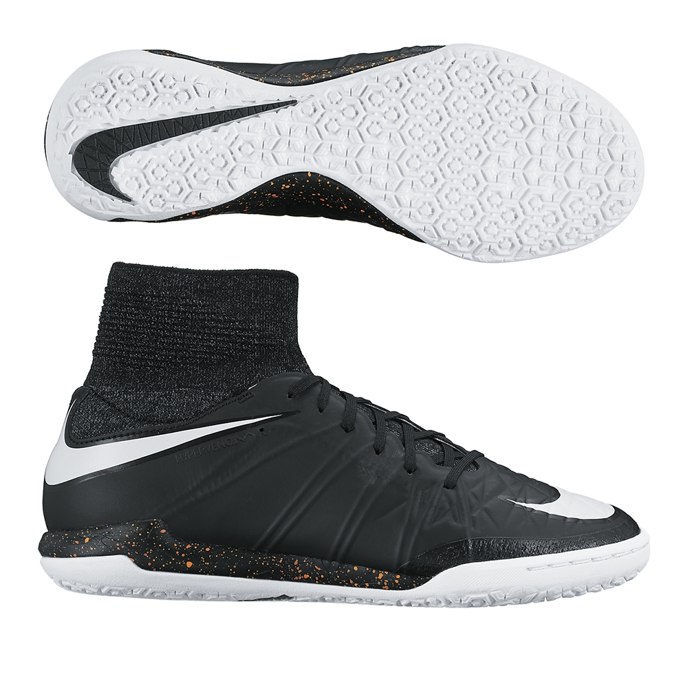 db2632536655 $129.99 Add to Cart for Price - Nike Youth HypervenomX Proximo Street  Indoor Soccer Shoes (Black/Total Orange/White)   747509-018   Nike SCCRX ...