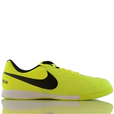 Nike Youth Tiempo Legend VI IC Indoor Soccer Shoes (Volt/Black/Volt)