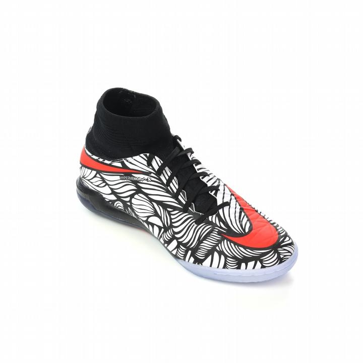 Nike Neymar Youth HypervenomX Proximo Street IC Indoor Soccer Shoes (Black/ White/Total ...