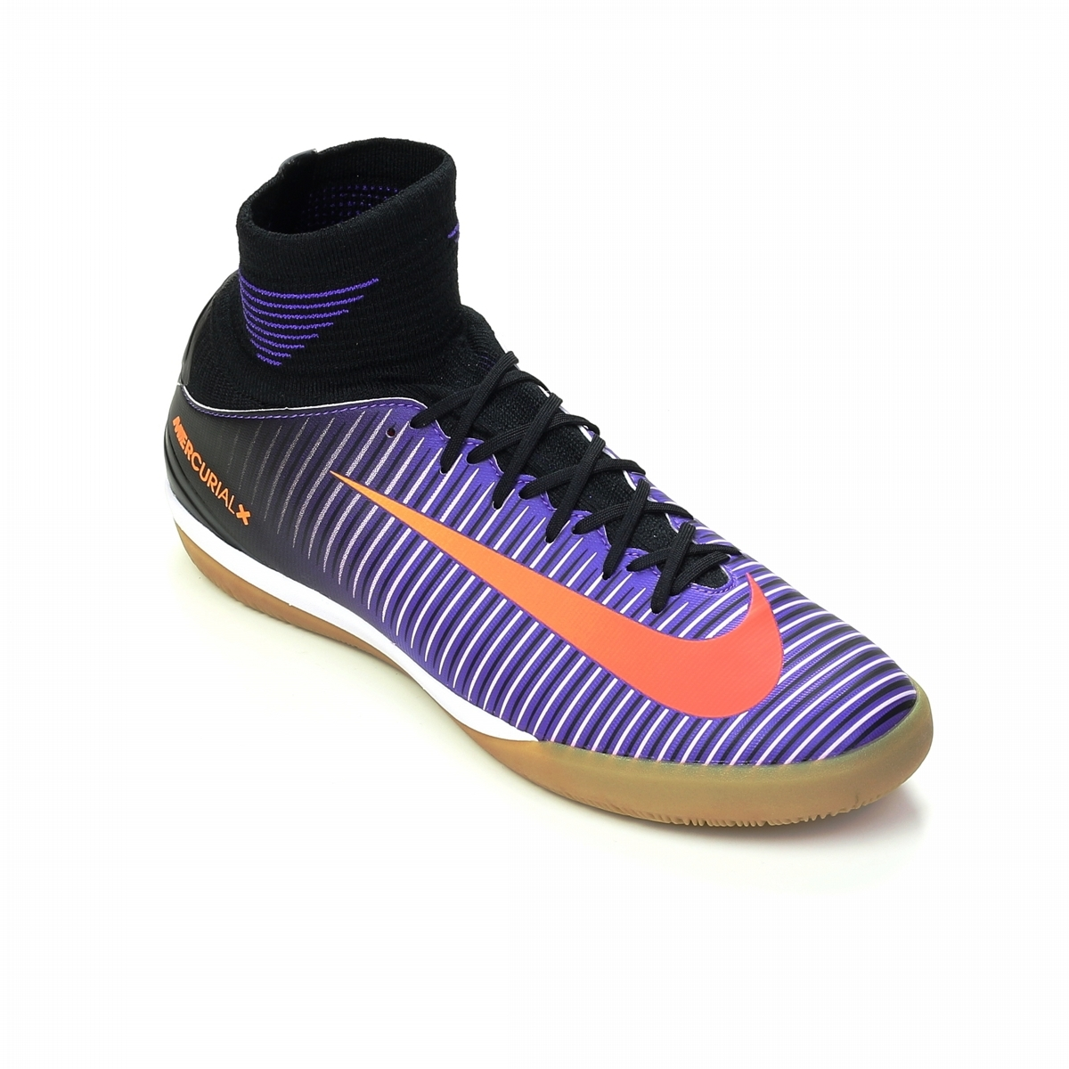competitive price c7378 14ea6 Nike Youth MercurialX Proximo II IC Indoor Soccer Shoes (Black Total Crimson  Hyper ...