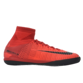 Nike Youth MercurialX Proximo II IC Indoor Soccer Shoes (University Red/Black/Bright Crimson)