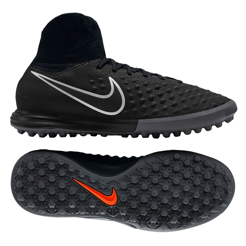 0fcf47888ed1 Nike Youth MagistaX Proximo II TF Turf Soccer Shoes (Black Black ...