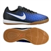 Nike Youth Magista Opus II IC Indoor Soccer Shoes (Black/White/Paramount Blue/Blue Tint)