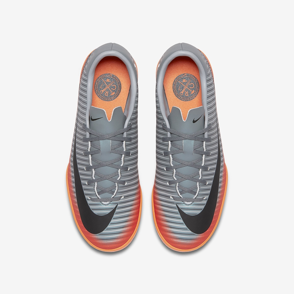 66404ac03 Nike Youth MercurialX Victory VI CR7 IC Indoor Soccer Shoes (Cool ...