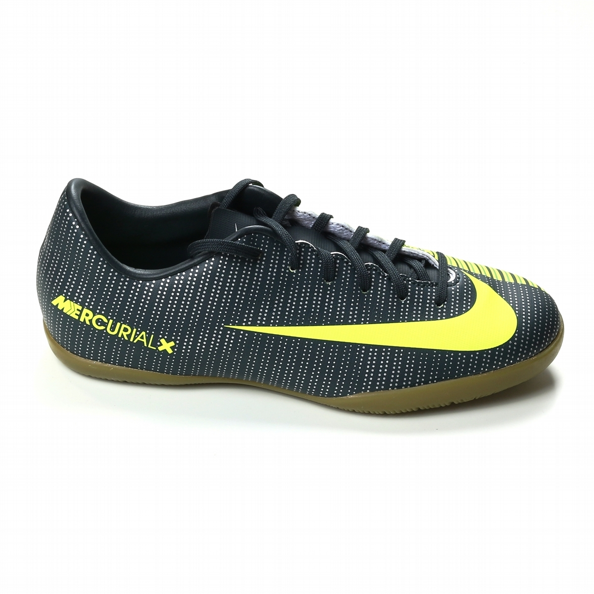 buy popular 5948e ee22c Nike Youth MercurialX Vapor XI CR7 IC Indoor Soccer Shoes  (Seaweed/Volt/Hasta/White)