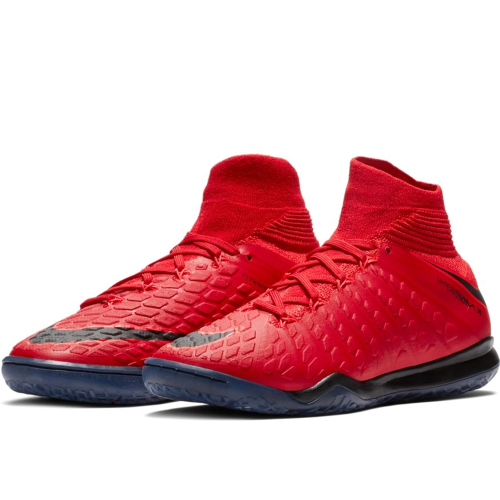 cc6f172b774 Nike Youth HypervenomX Proximo II DF IC Indoor Soccer Shoes (University Red  Black Bright ...