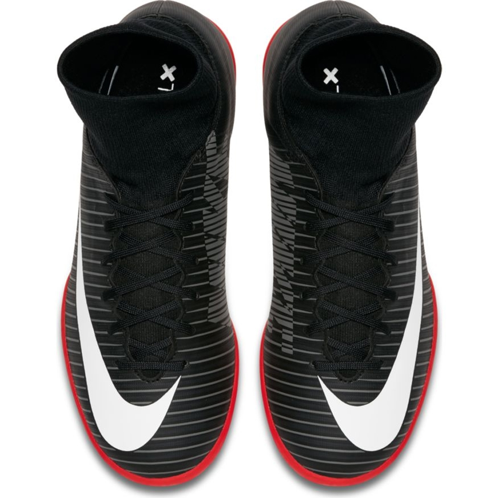 513cb1fd5535 Nike Youth Mercurial Victory VI DF IC Indoor Soccer Shoes (Black ...