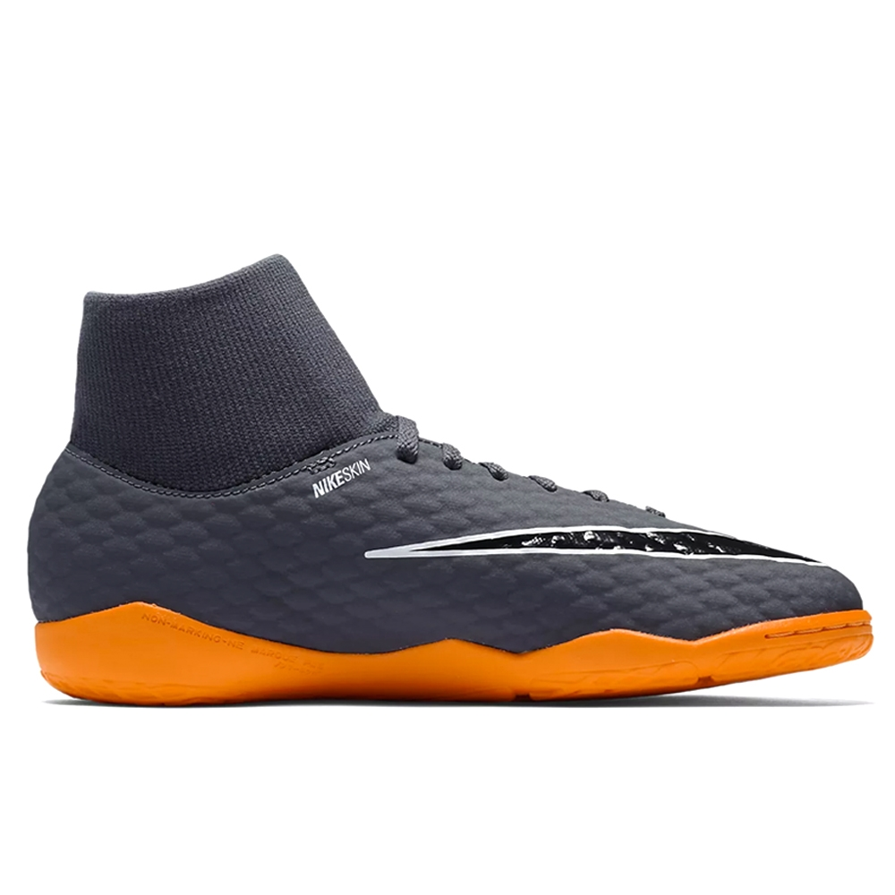 ebf947048f16 Nike Youth Hypervenom PhantomX III Academy DF IC Indoor Soccer Shoes ...