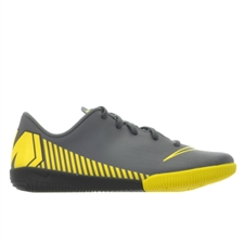 Nike Younger Kids' VaporX 12 Academy IC Indoor Soccer Shoes (Dark Grey/Black/Opti Yellow)