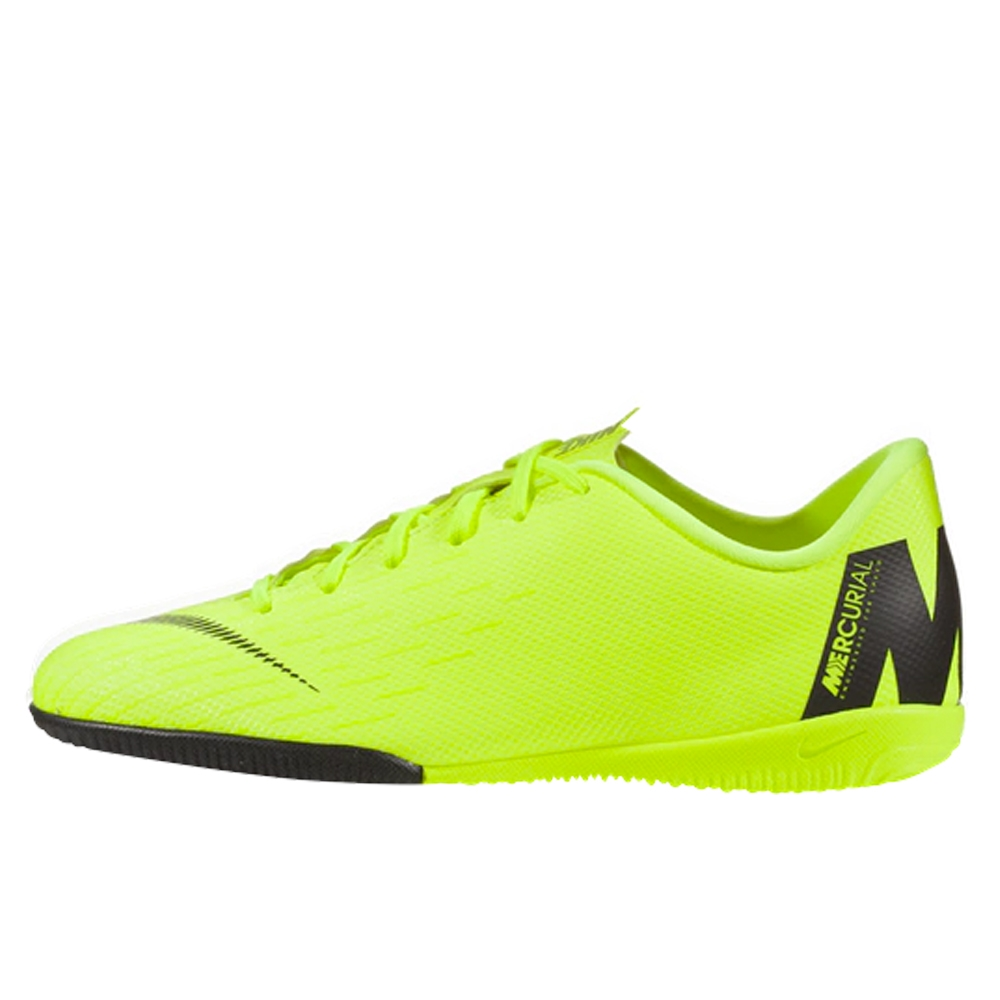 0ce082136fc Nike Younger Kids  VaporX 12 Academy IC Indoor Soccer Shoes (Volt ...