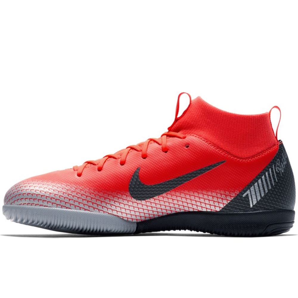 c644d0fb1 Nike Youth SuperflyX VI Academy CR7 IC Indoor Soccer Shoes (Bright ...