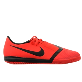 Nike Youth Phantom Venom Academy IC Indoor Soccer Shoes (Bright Crimson/Black)