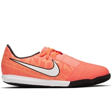 Nike Youth Phantom Venom Academy IC Indoor Soccer Shoes (Bright Mango/White/Orange Pulse)