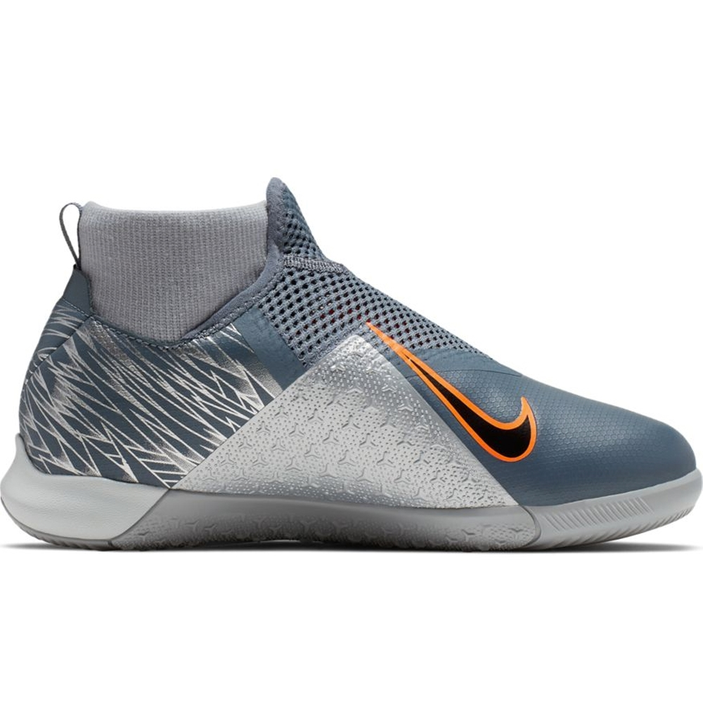 sale retailer dc6d4 48bf9 Nike Youth Phantom Vision Academy DF IC Indoor Soccer Shoes (Armory  Blue/Black/Hyper Crimson)