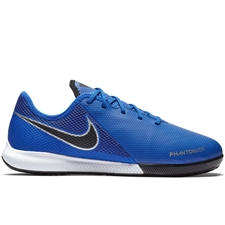 Nike Youth Phantom Vision Academy IC Indoor Soccer Shoes (Racer Blue/Black/Metallic Silver/Volt)
