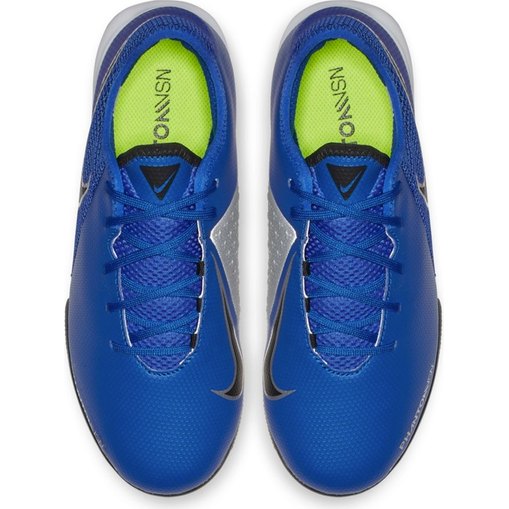 Nike Youth Phantom Vision Academy IC Indoor Soccer Shoes (Racer Blue ... fa5354b69