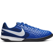 Nike Youth Legend 8 Academy IC Indoor Soccer Shoes (Hyper Royal/White/Deep Royal Blue)
