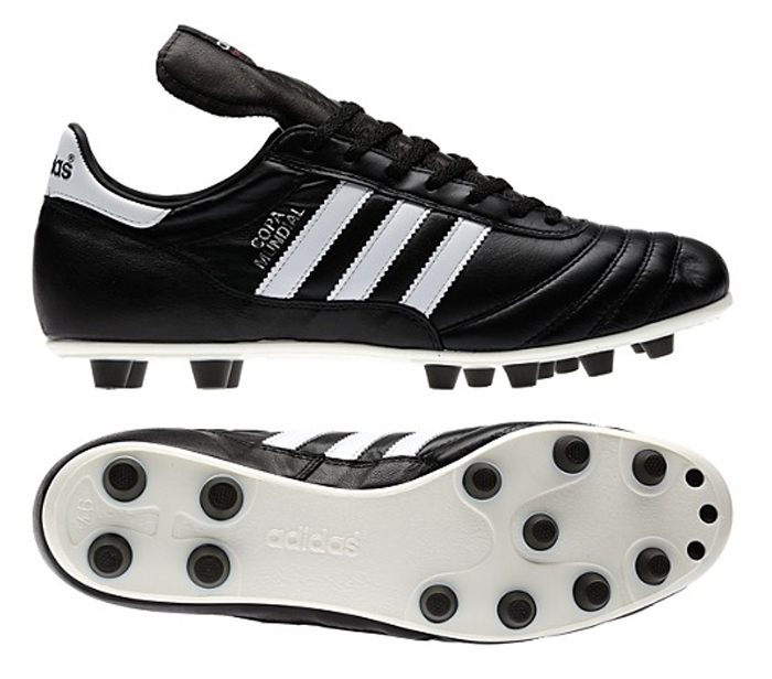Adidas Copa Mundial FG Soccer Cleat (Black/Running White)