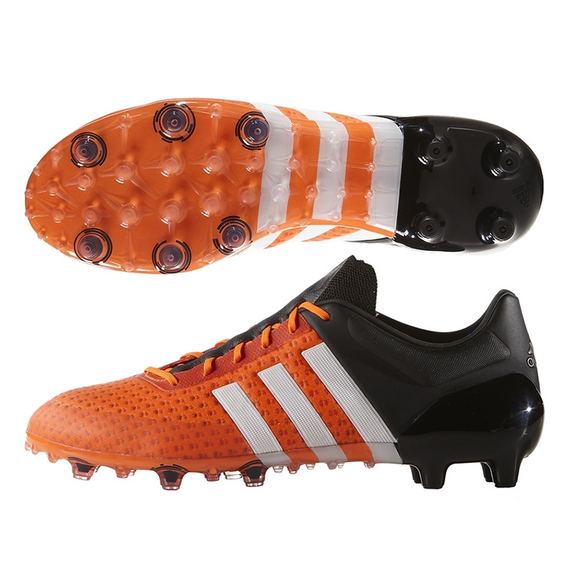 32cf3d367ab Adidas ACE 15+ Primeknit FG Soccer Cleats (Solar Orange White Black)