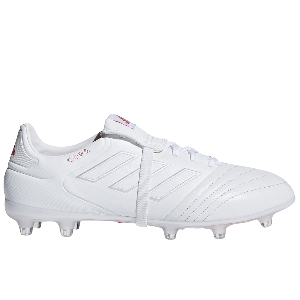 550b1412feb7 Adidas Copa Gloro 17.2 FG Soccer Cleats (White/Real Coral ...