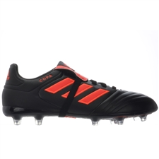Adidas Copa Gloro 17.2 FG Soccer Cleats (Core Black/Solar Red)
