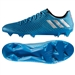 Adidas Messi 16.1 FG Soccer Cleats (Shock Blue/Matte Silver/Core Black)
