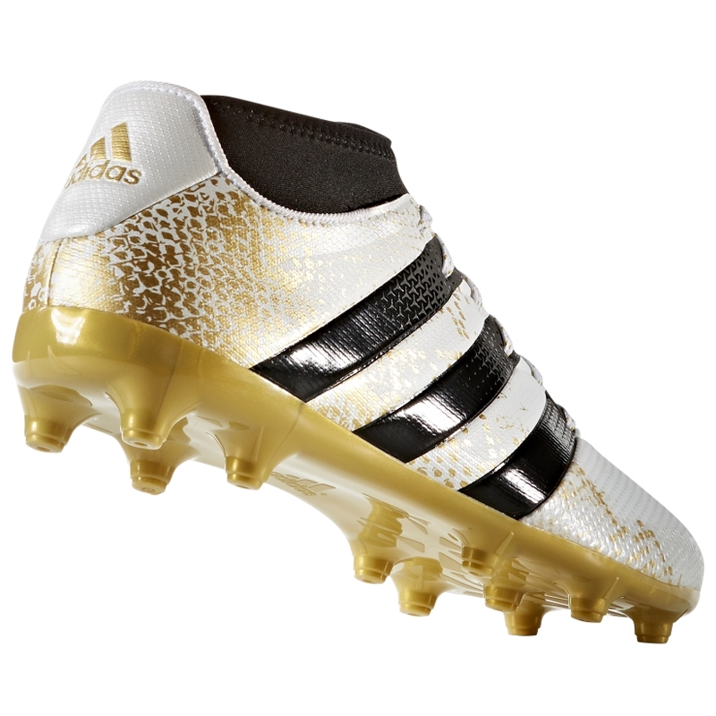 57affcf81 Adidas ACE 16.3 Primemesh FG AG Soccer Cleats (White Gold Metallic ...