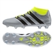 Adidas ACE 16.2 Primemesh FG/AG Soccer Cleats (Silver Metallic/Core Black/Solar Yellow) | Adidas Soccer Cleats |FREE SHIPPING| Adidas AQ3448| SoccerCorner.com