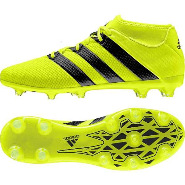 ac8a928a0 ACE 16.2 Primemesh FG AG Soccer Cleats in Yellow and Silver)