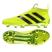 Adidas ACE 16+ PURECONTROL FG Soccer Cleats (Solar Yellow/Core Black/Metallic Silver) | Adidas Soccer Cleats | FREE SHIPPING | Adidas AQ3805 | SoccerCorner.com