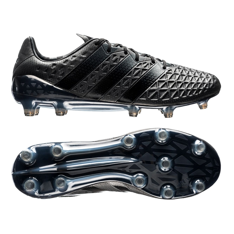 best sneakers bae46 fe886 Adidas ACE 16.1 FG Soccer Cleats (Fluid Black)