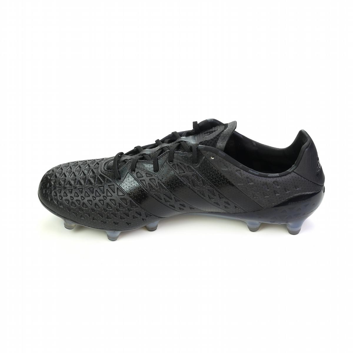 best sneakers 4e680 b8d85 Adidas ACE 16.1 FG Soccer Cleats (Fluid Black)