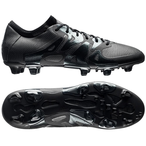 adidas x 15 1 fg ag soccer cleats fluid black adidas soccer cleats free shipping aq5350. Black Bedroom Furniture Sets. Home Design Ideas