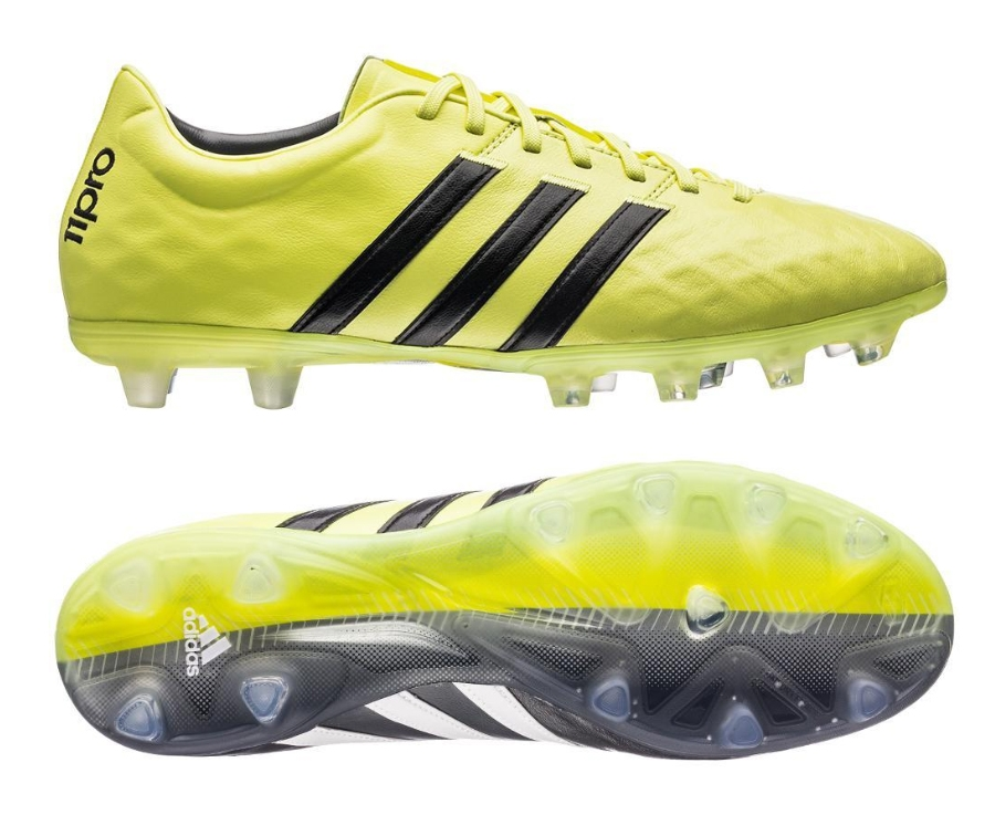Adidas 11Pro Fg- Yellow football shoes