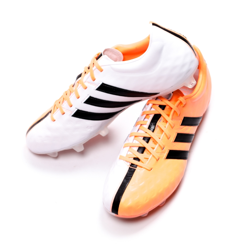 adidas adipure 11pro fg black flash orange