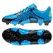 Adidas X 15.3 FG/AG Soccer Cleats (Solar Blue/Solar Yellow/Black)