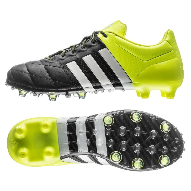 SALE $129.95 - Adidas ACE 15.1 FG/AG (Leather) Soccer Cleats ...