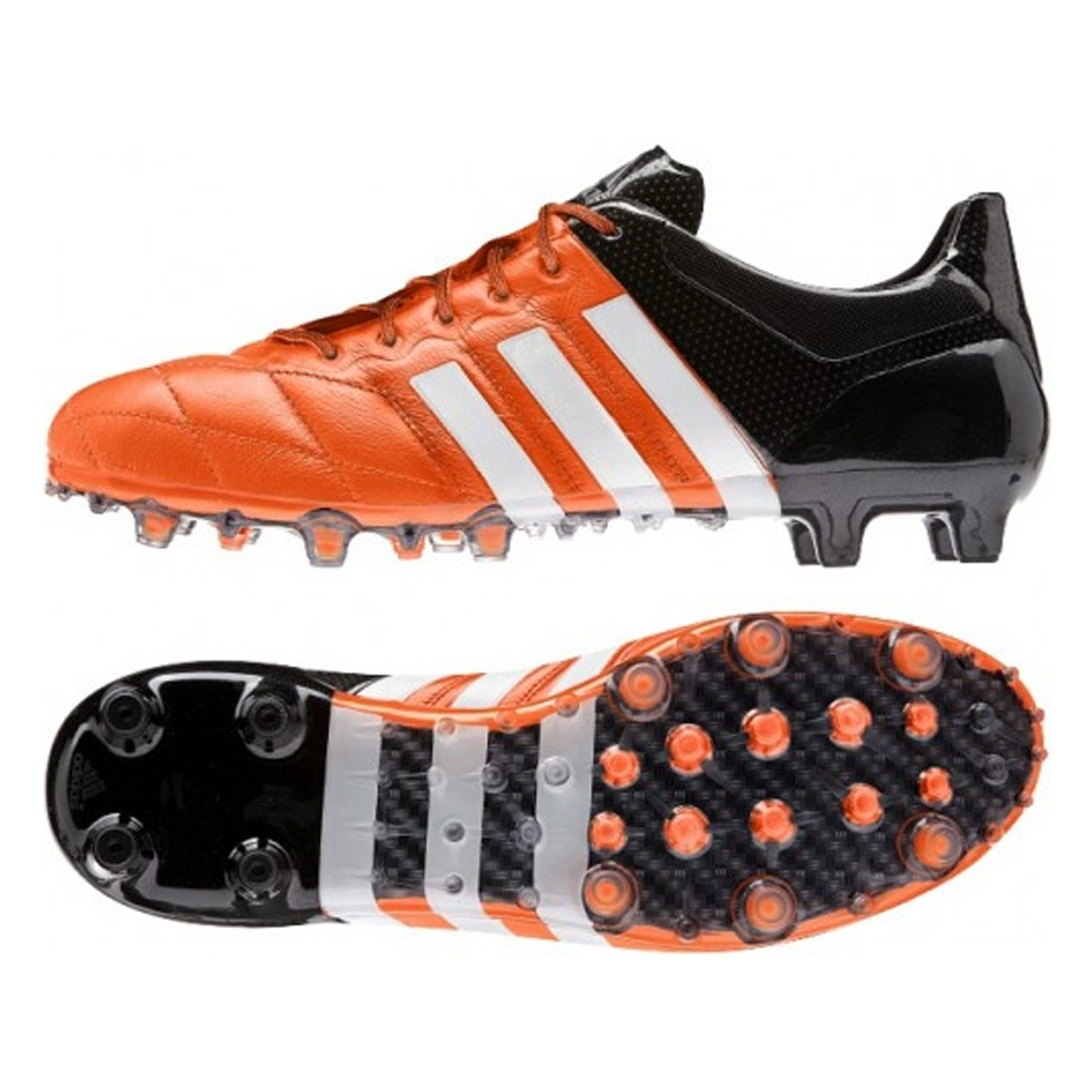cf0ecb6a88ff SALE $119.95 - Adidas ACE 15.1 FG/AG (Leather) Soccer Cleats (Solar ...