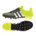 Adidas ACE 15.3 FG/AG Soccer Cleats (Black/White/Solar Yellow)