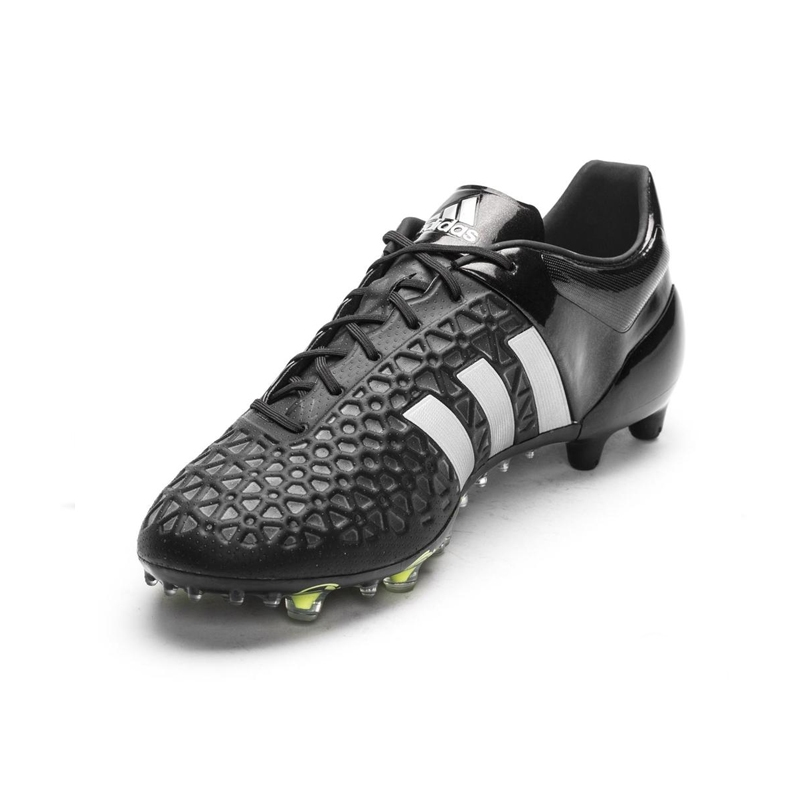 1ff0c6063 SALE  129.95 - Adidas ACE 15.1 FG AG Soccer Cleats (Black Metallic ...