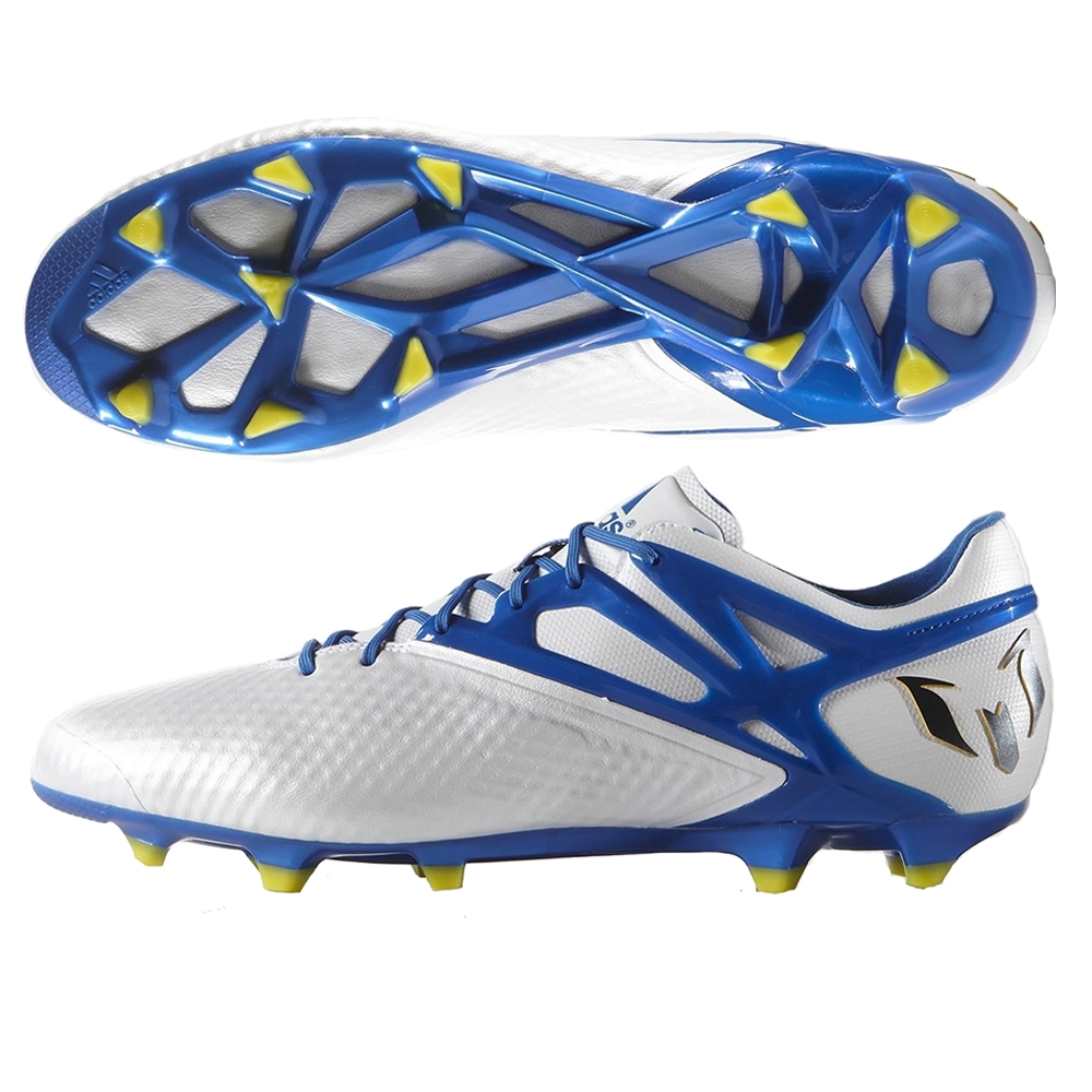 a7d5b3fc557 SALE  139.95 - Adidas Messi 15.1 FG AG Soccer Cleats (White Pride ...