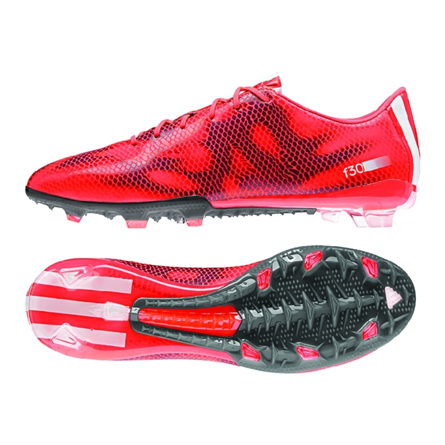 ead7253c6f0 SALE  59.95 - Adidas F30 (Synthetic) TRX FG Soccer Cleats (Solar Red ...