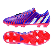 Adidas Predator Absolado Instinct FG Soccer Cleats (Solar Red/White/Night Flash)