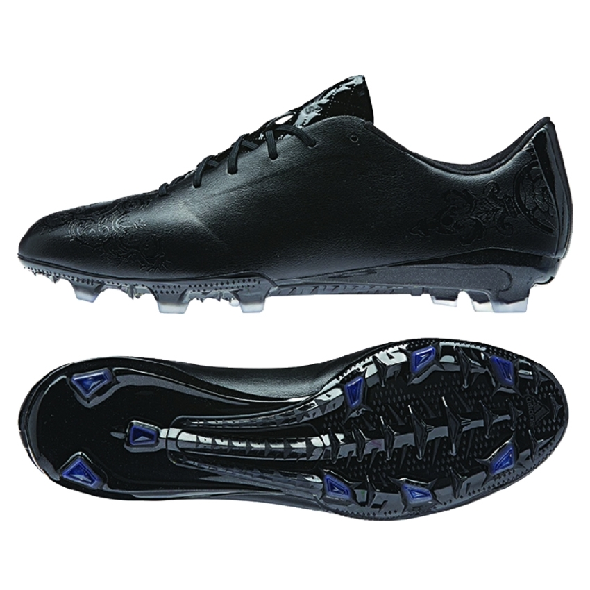 Adidas Soccer F50 Adizero FG Cleats Core Black For Men