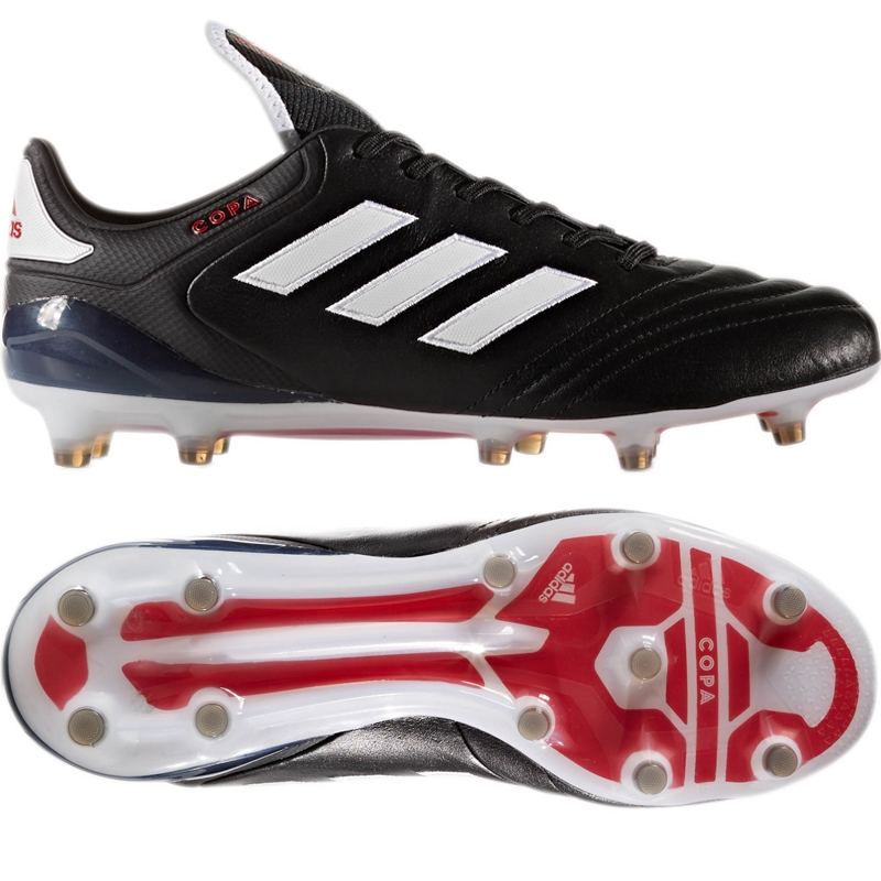 Adidas Copa 17.1 FG Soccer Cleat (Black White Red) -  1e199e07e