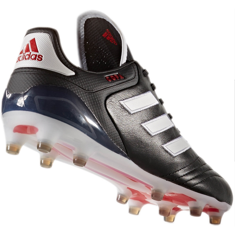 Adidas Copa 17.1 FG Soccer Cleat (BlackWhiteRed) -  BA8515 .